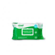 Clinell (클리넬/표면소독티슈) 경제형200매 1박스(6팩) / 두꺼운100매 1박스(6팩)